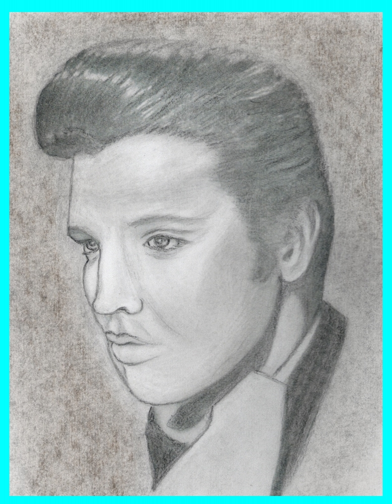 Elvis Presley by Vuilletjossjoss